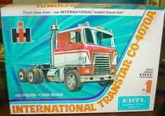 Model Truck Kits, Model Kits, Monogram Models, Plastic Model Cars, Truck Art, Hobby Shop, Vintage Models, Kit Cars, Model Pictures
