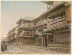 OLD PHOTOS of JAPAN: Yoshiwara Brothel Tokyo 1890s