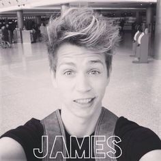 James from the vamps. The vamps are going to open up for Taylor (Swift) in London at the o2 arena. Also he loves her. Like really loves her. In interviews he says that she is the reason why he started to write music. So go and look up The Vamps on YouTube.
