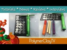 Polymer Clay Extruder How to Use and Tips - YouTube