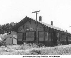 Fonda, Iowa. MILW :: John P. Vander Maas Railroadiana