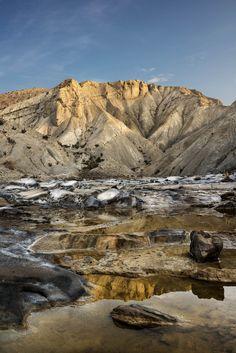 Río de sal. Desierto de Tabernas. Almería by Blas Sánchez on 500px