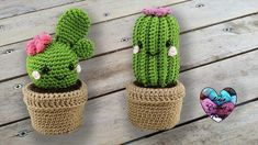 I present you these beautiful Cactus Kawaii amigurumi, crochet. Free tutorial presented by Lidia Crochet Tricot. Share these 12 Crochet Cactus Tutorial - Creative Ideas with others also so that they may also create some of the amazing masterpieces for the Crochet Kawaii, Crochet Diy, Crochet Patterns Amigurumi, Amigurumi Doll, Crochet Dolls, Tutorial Crochet, Cactus En Crochet, Crochet Flowers, Crochet Cactus Free Pattern