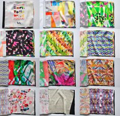 Digital fabric designs by the People's Print