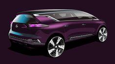 Renault Initiale Paris concept car.