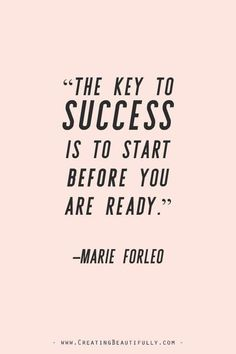 Inspiring Quotes from Powerful Women Entrepreneurs on CreatingBeautiful. - Inspiring Quotes from Powerful Women Entrepreneurs on CreatingBeautiful. Inspiring Quotes from Powerful Women Entrepreneurs on CreatingBeau. Marie Forleo, Motivation Positive, Business Motivation, Quotes Positive, Motivation For Exercise, Career Motivation Quotes, Motivation For Studying, Positive Business Quotes, Woman Motivation