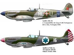 . . . . Talvez nenhuma outra aeronave tenha atingido tanta fama como o Supermarine Spitfire , um caça britânico, geralment...