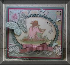 Mother & Child  Mother's Day card with I Brake For Stamps image