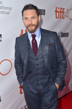 First of all, let's acknowledge how he's spent the past 12 months ruining suits for other men. | 29 Times Tom Hardy Was Goddamn Human Perfection In 2015