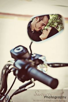 Ideas for Motorcycle Wedding Photos - Bing Images - Motorbike Ideas - . Motorcycle Photo Shoot, Motorcycle Wedding Pictures, Motorcycle Photography, Motorcycle Engagement Photos, Motorcycle Touring, Bobber Motorcycle, Couple Photography, Engagement Photography, Engagement Session