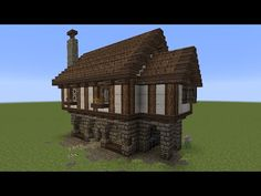 Detailed Medieval Wall Entrance Now With Added Guard Tower - Minecraft haus bauen fur profis