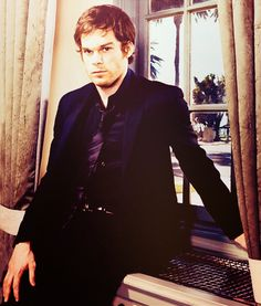 Michael C Hall...something so hot about him.