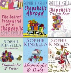 The shopoholic series is amazingly light and funny..loved them!