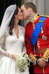 Royal kiss.