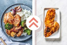 Hello Fresh Recipes, Roasting Tins, Duck Sauce, Toasted Sesame Seeds, Baked Chicken Breast, Broccoli Florets, Breast Recipe, Hoisin Sauce, Tray Bakes