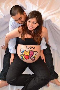 Daniela chocheó mucho con su embarazo de 40 semanas y 3 días :) https://instagram.com/babytuto/