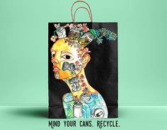"""Check out new work on my @Behance portfolio: """"Can Bag Design"""" http://be.net/gallery/46246621/Can-Bag-Design"""