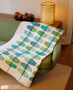 Mint Julep, from Transparency Quilts. Photo: Jim White. Copyright ...