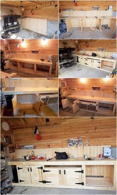 DIY Wood Pallets Mud Kitchen Plan