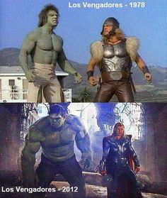 the avengers en distintas epocas!! //wwwoooooooo la rajaaaaaaaaa