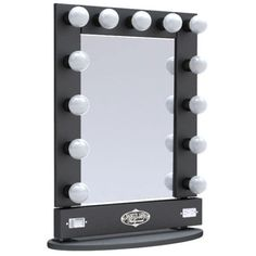 DIY MAKEUP MIRROR with Lights | cool projects | Pinterest | Diy ...:Details about Broadway Lighted Vanity Mirror Table Top,Lighting