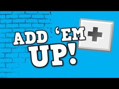 ADD 'EM UP! A song for kids about adding by ones up to ten Enjoy! To purchase this song in video format or audio format please visit www. Math Songs, Kids Songs, Counting Songs, Harry Kindergarten, Math Addition, Kindergarten Addition, Addition Facts, Singapore Math, School Videos