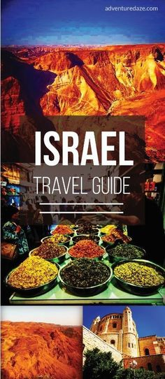Whether you wanna visit the Old City of Jerusalem during the day or go clubbing in Tel Aviv at night, this guide will show you everything you need to know about traveling to Israel! Israel Travel, Egypt Travel, Asia Travel, Israel Trip, Travel Pro, Israel Tours, Oh The Places You'll Go, Places To Travel, Travel Destinations