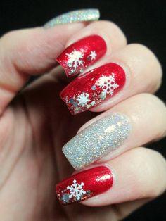 #christmas #nail #art