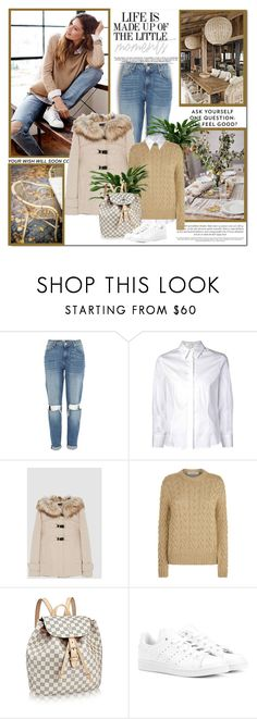 """""""Life is made up of the little moments!!"""" by lilly-2711 ❤ liked on Polyvore featuring River Island, Carolina Herrera, MaxMara and adidas Originals"""