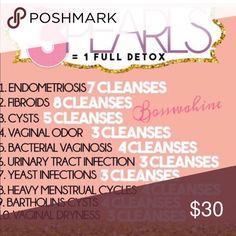 Get your womb detox kit at Yoni Pearls, Detox Kit, Yoni Steam, Bacterial Vaginosis, Hair Vitamins, Remedies, Women's Health, Health Benefits, Vegan Detox