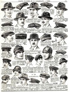 Vintage Hats, How to draw Hat, Drawing Hats, Hat Illustration with thanks to… Drawing Hats, Drawing Clothes, Vintage Outfits, Vintage Fashion, Retro Mode, Retro Vintage, Bd Comics, Doodle Sketch, Character Design References