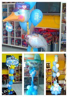 Newborn baby boy!! Cute balloons! Find out more @ www.mpam.eu