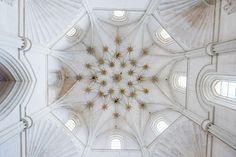 Efimerata: Cúpula de la capilla de la Concepción del convento de Santa Clara de Medina de Pomar en Burgos