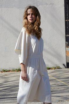Cosmic Wonder Natural Cotton Handkerchief Dress