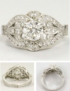 Vintage Engagement ring                                                                                                                                                                                 More