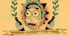 28 Amazing Tattoos Inspired by Rick and Morty