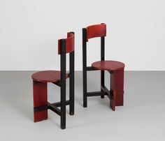 "Rare Set ""Bastille"" Chairs by Piet Blom, 1968"