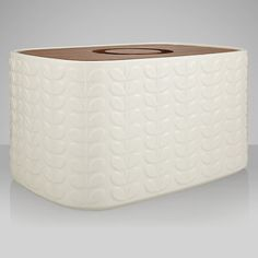Buy Orla Kiely Raised Stem Bread Bin, Cream Online at johnlewis.com