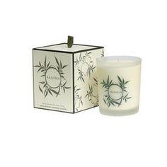 bougie parfumée pamplemousse et may chang revigorante et énergisante 26eur #blanc #cire #artisanal
