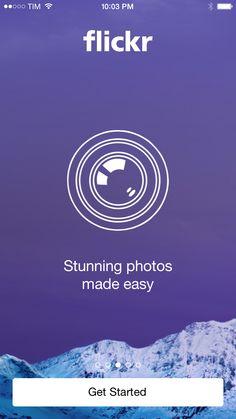 Flickr app walkthrough