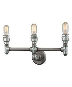 Pipe Three-Light Vanity Fixture | zulily