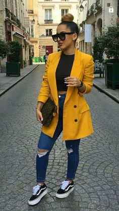 45 Genius spring outfits that will save your life completely making you look beautiful, trendy and always ready to impress. Cute Casual Outfits, Stylish Outfits, Comfortable Outfits, Fall Winter Outfits, Spring Outfits, Holiday Outfits, Mode Outfits, Fashion Outfits, Ootd Fashion