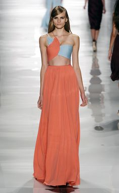 Reem Acra RS15 0304 #fashion #style #runway
