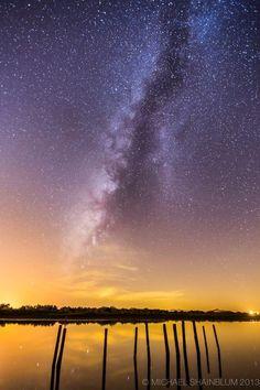 Milky Way from Salton Sea