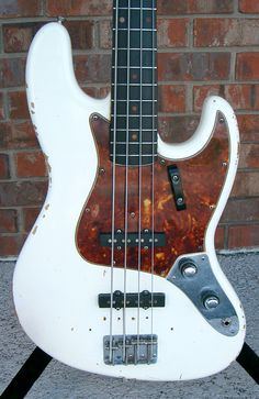 60's stacked knob Fender Jazz Bass. Refinished though.