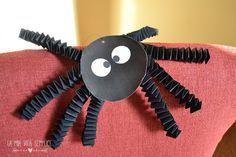 Come fare il ragno di Halloween Halloween spider