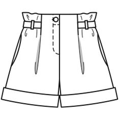 ideen for teens frauen shorts outfits Fashion Design Sketchbook, Fashion Design Drawings, Fashion Sketches, Dress Design Sketches, Flat Drawings, Flat Sketches, Cute Designs, Designs To Draw, Kleidung Design