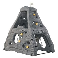Skyward Summit Climber- Rock Climber Jungle Gym 782200 for sale online Kids Rock Climbing, Climbing Wall, Backyard Toys, Backyard For Kids, Backyard Playhouse, Ballon En Mousse, Escalade, Outdoor Playground, Playground Ideas