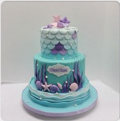 Image result for mermaid cake ideas