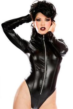 Aliexpress.com: 365Buy (Lingerie & Costume & Dress & Bikini)より信頼できる 衣装オレンジ サプライヤからpvcビニールの衣装セクシーな女性のラテックスレオタードwetlookフェイクレザーポールダンスフェチテディナイトクラブジャンプスーツキャットスーツの衣装を購入します